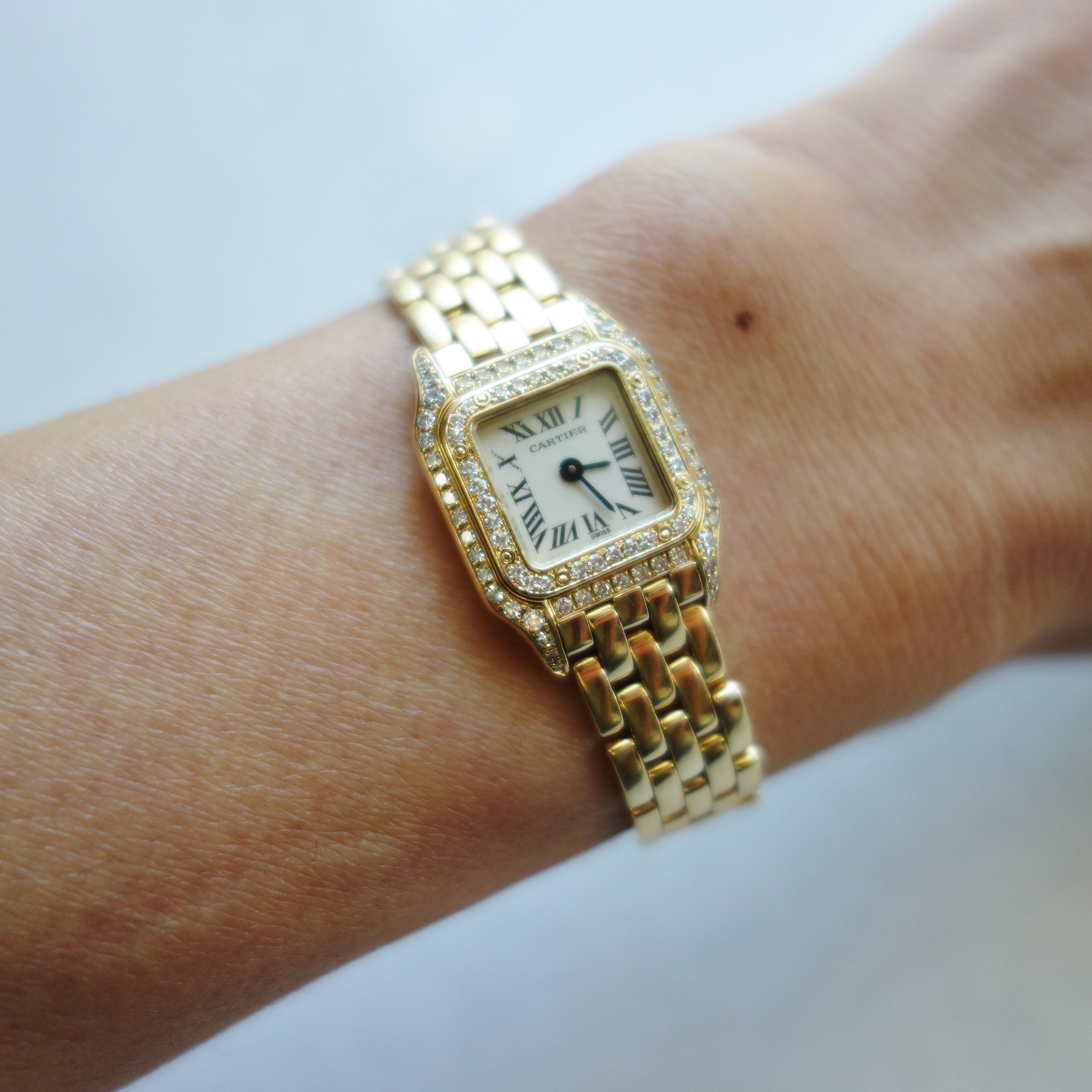 the latest f71a3 6221e 時計物語・・・Cartier ミニパンテール | おしゃれ手帖 〜好きな ...